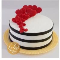 کیک تولد مینی باران عشق